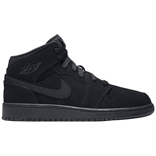 Nike Jordan Youth Air Jordan 1 Mid Leather Trainers