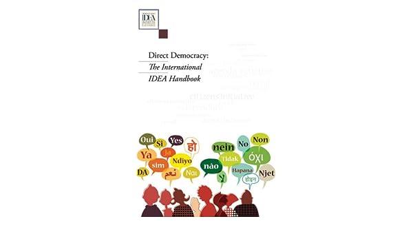 Direct Democracy The International Idea Handbook Amazon