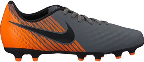 Nike Unisex-Kinder Jr. Magista Obra II Club FG Fußballschuhe, Grau (Dark Greyblacktotal Orangew 080), 36 EU (Fußball-clubs Für Kinder)