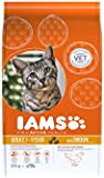 Iams Dry Adult Cat Food with Chicken, 3kg