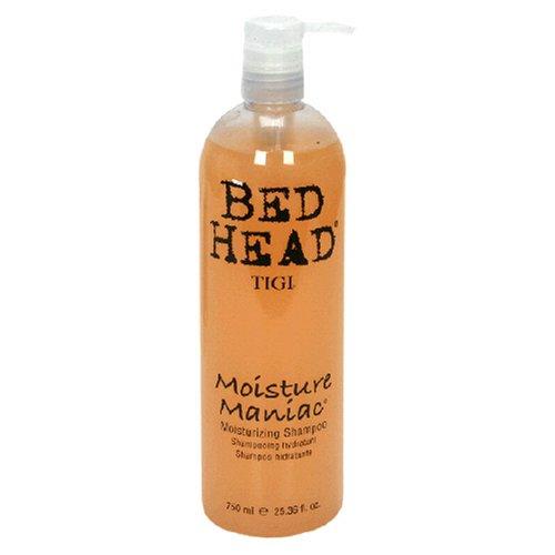 TIGI Bed Head Moisture Maniac Shampoo - Head Bed Edge