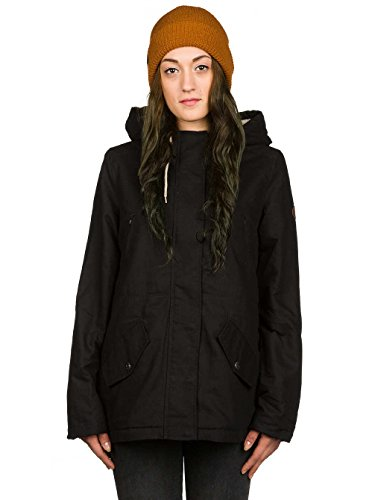 G.S.M. Europe - Billabong Damen Jacke Iti Jacket, BLACK, Gr. L Billabong Black Hat