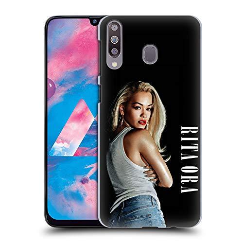 Head Case Designs Offizielle Rita Ora Kalender Februar Kunst Harte Rueckseiten Huelle kompatibel mit Samsung Galaxy M30 (2019)