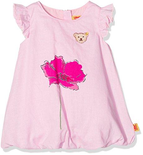 Steiff Baby-Mädchen Kleid Flügelarm, Rosa (Lotus 2069), 86