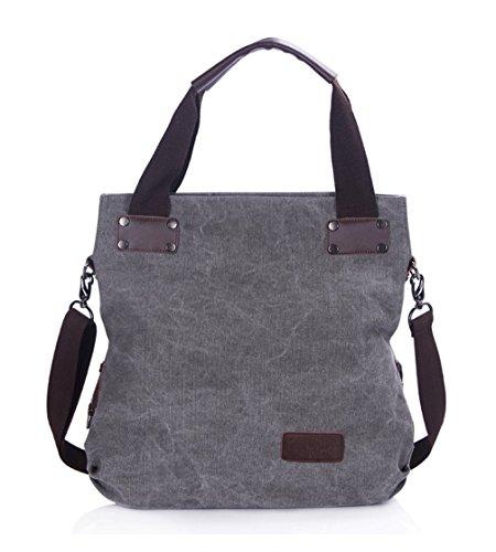 Leinwand Cool Damen Handtaschen, Hobo-Bags, Schultertaschen, Beutel, Beuteltaschen, Trend-Bags, Velours, Veloursleder, Wildleder, Tasche Light Grau Keshi