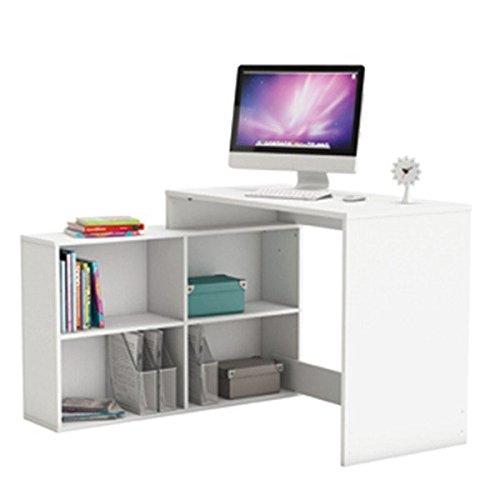 Eckschreibtisch-weiss-PC-Computertisch-Kinderschreibtisch-Jugendschreibtisch-Brotisch-Jugendzimmer-Kinderzimmer