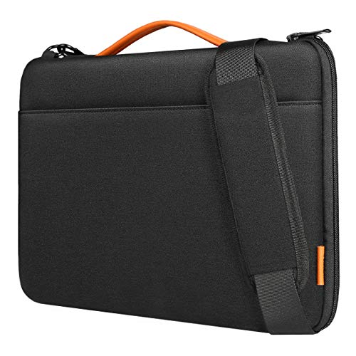 Inateck 14-14,1 Zoll Laptop Schultertasche, wasserdichte und verschleißfeste Laptop Hülle für 14-14,1 Zoll Laptops,15 Zoll Surface Laptop3, 15 Zoll MacBook Pro Retina 2016/2017/2018(A1707/A1990)