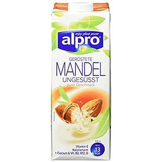 Alpro geröstete Mandeldrink ungesüßt, 8er Pack (8 x 1 l)