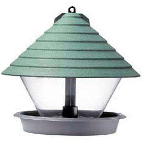 Unbekannt Hammarplast 932544 Vogelfutterhaus 27 cm Kunststoff, rund, grün