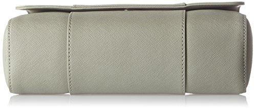 Armani Jeans Damen Borsa A Tracolla Schultertasche, 19 x 10 x 27 cm Grau (Taupe)
