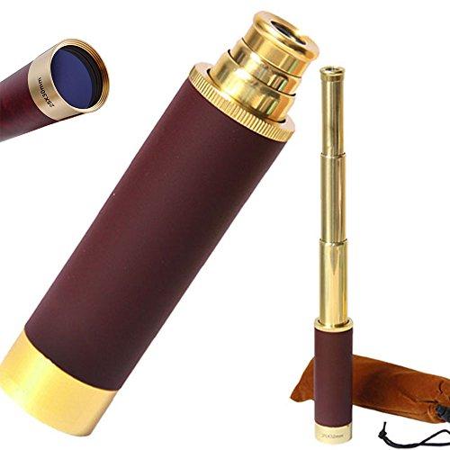 UrChoiceLtd® Hot 25 x 30 Zoom Monocular latón Telescopio