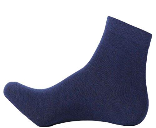 Schwere Kissen Socke (ChengZhong Herren-Socken aus Baumwolle, feuchtigkeitsableitend, extra schweres Kissen Gr. Einheitsgröße, 5)
