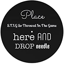 Luogo s.t.i.g So Throwed in-the Game here e goccia dell' ago Slipmat 7 inches