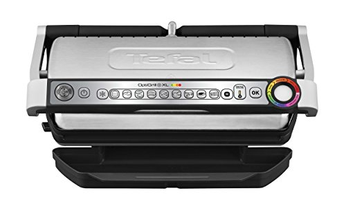 Tefal Optigrill+ XL GC722D - Barbacoa, inox, color plateado