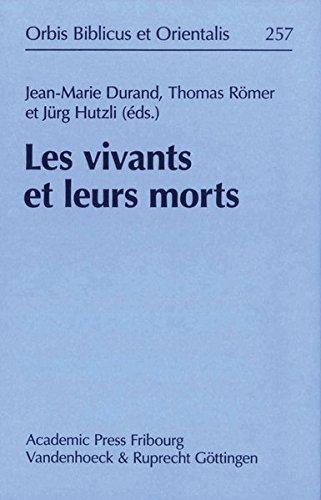 les-vivants-et-leurs-morts-actes-du-colloque-organis-par-le-collge-de-france-paris-les-14-15-avril-2010