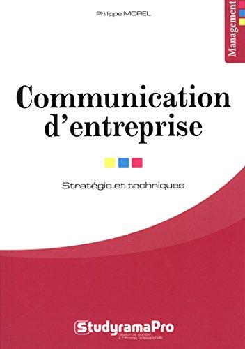 Communication d'entreprise par Philippe Morel