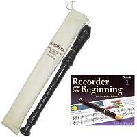 Yamaha Descant YRS24BUK school recorder with Book 1Yamaha Descant YRS24BUK school recorder with Book 1