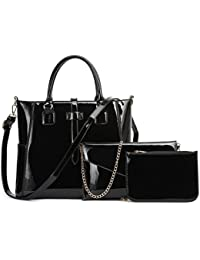 fe0f8fdf2b19 LeahWard Large 3 IN 1 Handbags For Women Quality Women s Shoulder Tote Bags  For School Holiday