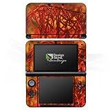 DeinDesign Nintendo 3 DS XL Case Skin Sticker aus Vinyl-Folie Aufkleber Blätter Orange Herbst
