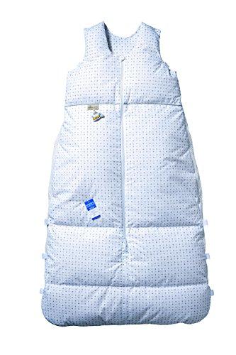 Preisvergleich Produktbild Climarelle Daunenschlafsack, längenverstellbar, Alterskl. ca 12-24 Monate, Sternenhimmel, 110cm