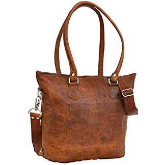 41fg05Ukb4L. SS324  - Gusti Bolso bandolera Therese bolso cruzar bolso mediano vintage marrón cuero