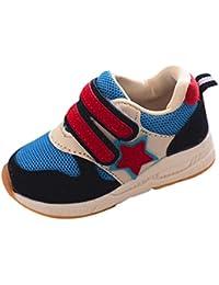 Fossen 1-6 años Niño Niña Zapatos Casual Deportes Zapatillas de malla para Bebe Primeros Pasos