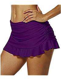 Shorts para Mujer Juleya Playa Bikini Shorts Ropa de Bañador Túnica Beach Swimwear Shorts de Baño EU 34-EU 48
