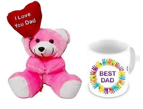 ME&You Gifts for Father, Birthday Gifts, Anniversary Gifts, Father's Day Gift Set- Teddy & Mug IZ18NJPTM-1777