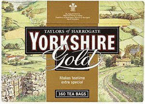 Yorkshire Tea Bags Gold ( 4 x 160 Pack )