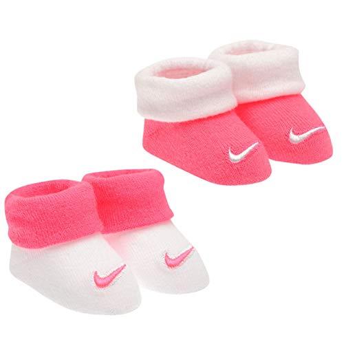 Nike , Baby Jungen Krabbelschuhe & Puschen, Pink - rosa/weiß - Größe: 0-6 Monate