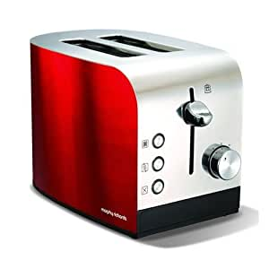Morphy Richards 44206 Accents Two Slice Toaster - Red