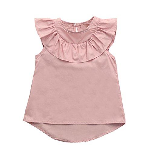 TURKEY Kleinkind Baby Mädchen Rüschen ärmelloses Kleid Baumwolle -