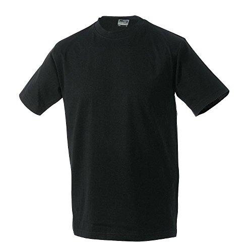 James & Nicholson - Men's Workwear T-Shirt Black