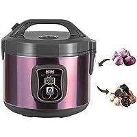 HUKOER Fermentador de ajo negro Máquina de fermentación inteligente todo en uno Pote de ajo eléctrico Pote de ajo negro hecho en casa. Dulce sabor amargo, sin olor a ajo. Antioxidante, resiste la acidificación. (3L)