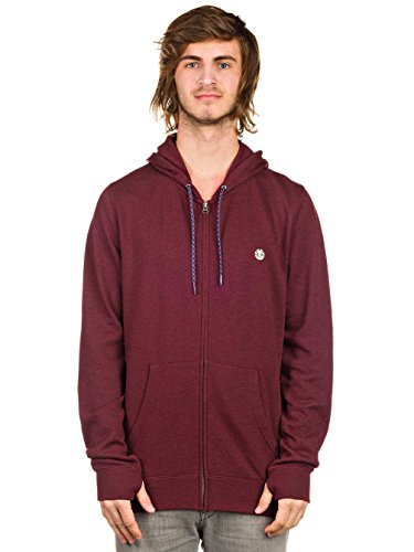 Cornell ZH Zip Hoodie (oxblood) red