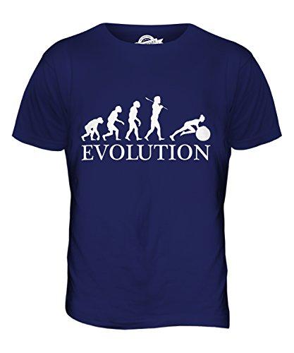 Candymix - Swiss Gym Ball Evolution Of Man - Mens T Shirt Top T-Shirt