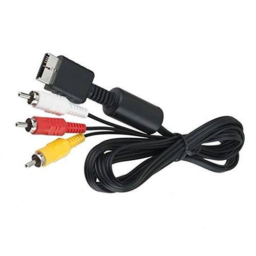 3 RCA AV-Kabel für Sony PlayStation 1 / 2 / 3 / PS1 / PS2 / PS3 (1,2 m). Ps3 Vga-hd-av-kabel