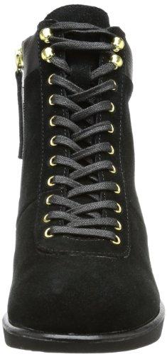 flip*flop jini boot suede, Scarpe stringate donna nero (Schwarz (Black 000))