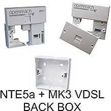 BT OpenReach - Presa master N.T.E. 5A Linebox originale per