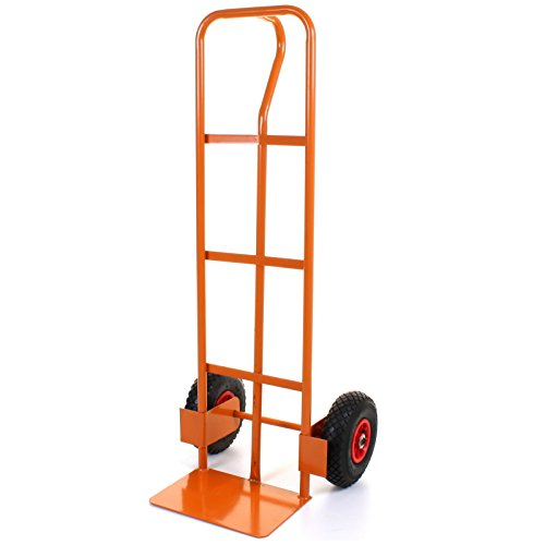 41fg9KEIAgL - BEST BUY# Marko Tools 551LB Capacity Heavy Duty UK Made Lifting Sack Truck Hand Industrial Trolley With Wheel Tyre Pneumatic Reviews