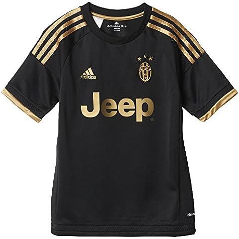 adidas Juve 3 JSY Y - Camiseta para niño, color negro / dorado, talla 152