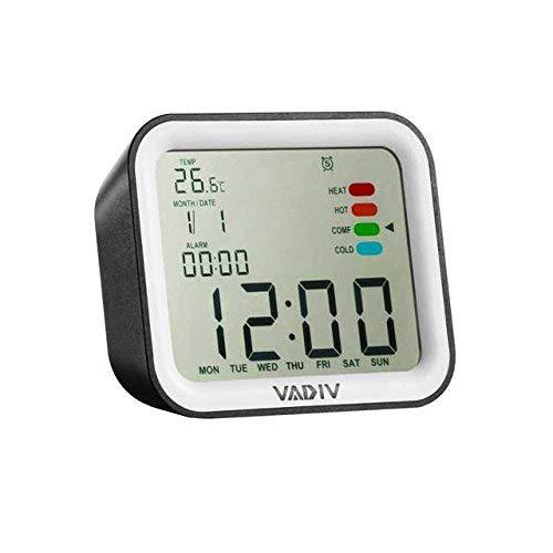 VADIV Reloj Despertador Viaje Digital Portatil, CL07 Función de Despertador de FILP,...