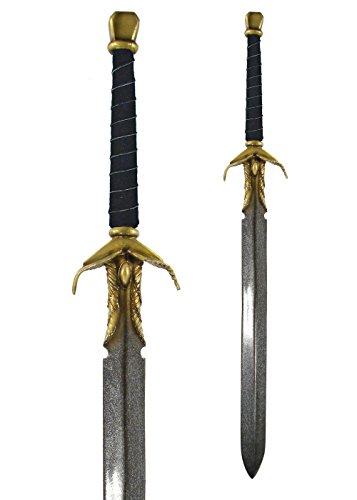 LARP Königliches Schwert 110 cm aus Schaumstoff Langschwert Mittelalter Kriegsschwert Polsterwaffe Schaukampf (Königliche Verkleidung Schwert Kostüme)