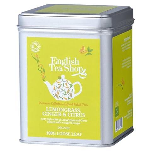 English Tea Shop Lemongrass Ginger and Citrus Fruits Organic Loose