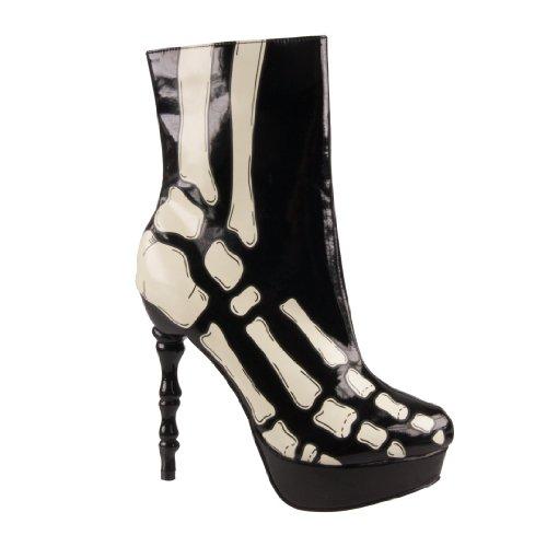 Too Fast Brand Stiefel VICTORIAN BOOT XRAY black (Xray Schuhe)