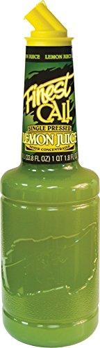 Finest Call Single Pressed Lemon Juice / Succo di Limone Singolo Pressato for Cocktails 1 x 1 Litre