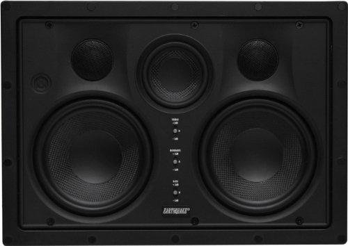 Earthquake Sound EWS-530C 350W Edgeless In-Wall LCR Speaker (piece) Shallow-woofer