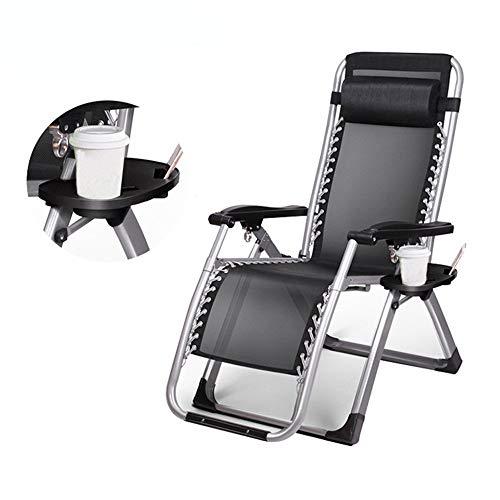 ACZZ Schwerelosigkeits-Stuhl-justierbarer Recliner All Seasonal, faltender Recliner-Stuhl-faltbare Rocker-Patio-Möbel im Freien -