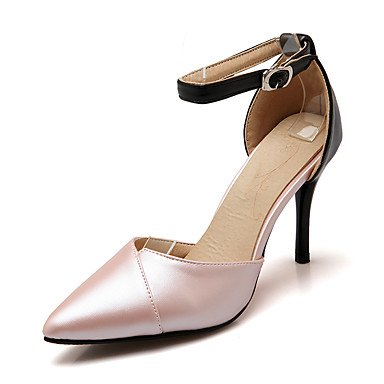 Zormey Sandalen Sommer Club Schuhe D'Orsay & Amp Zweiteilige Kunstleder Hochzeit Party & Amp Abendkleid Stiletto Heel Schnalle US8 / EU39 / UK6 / CN39