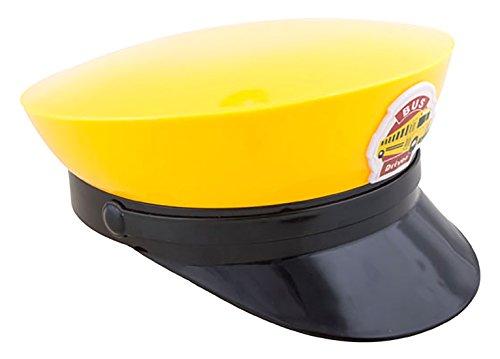 erdbeerclown - Busfahrermütze - Erwachsene Zubehör Hut, Gelb